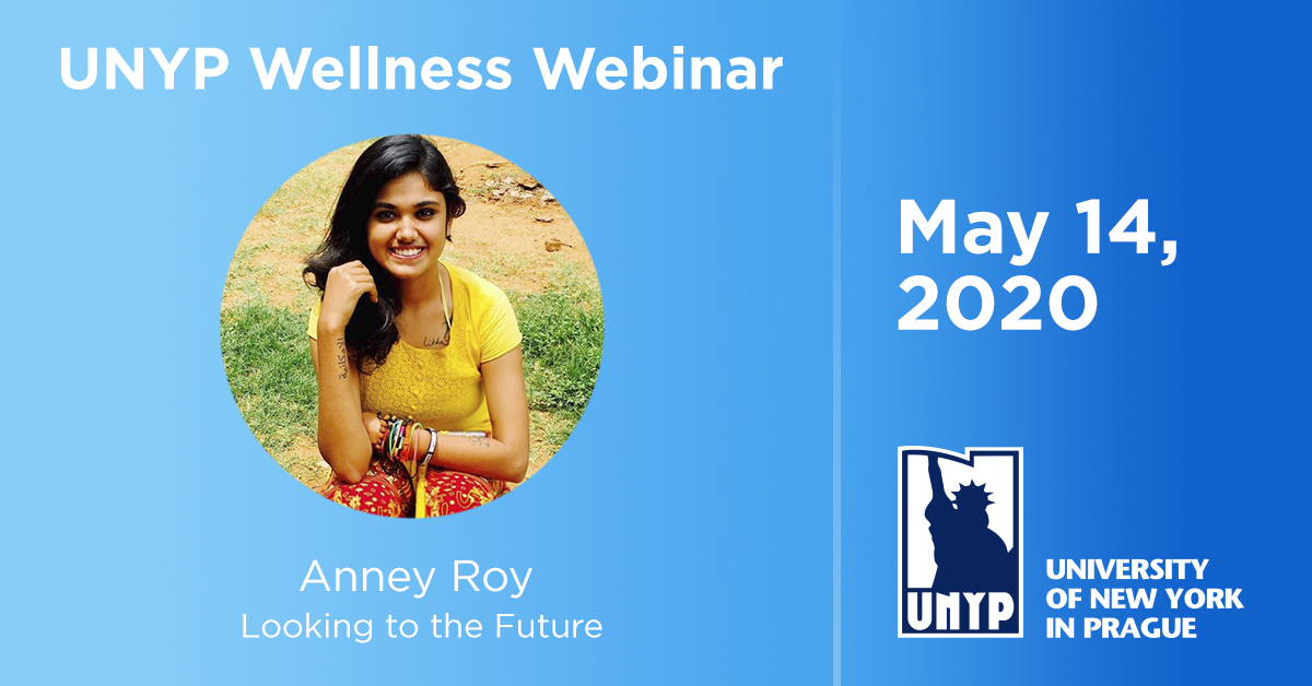 UNYP Wellness Webinar May 14 Anney Roy